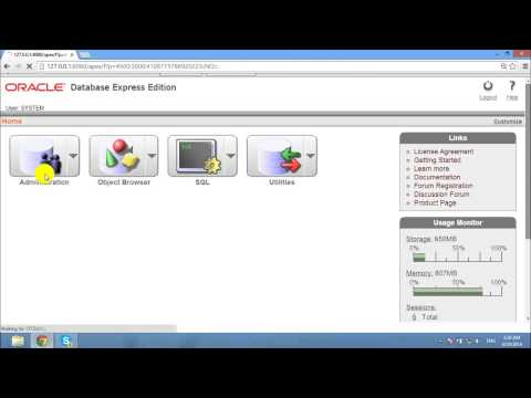 oracle database 10g express edition for windows 7 64 bit