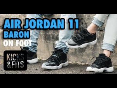 buy popular 7df07 8d01f Kicks and Fits   Air Jordan XI (11)  Baron  ON FOOT Review