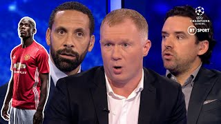 """Tell him to shut up, or sack him!"" Ferdinand and Scholes furious with Pogba and Raiola"
