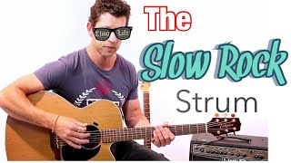 Beginner Strumming Pattern 2 - Slow Rock Strum Guitar Lesson with Mark McKenzie