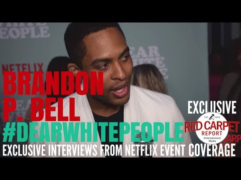 Brandon P Bell ed at Netflix's Dear White People Vol 2 Special Screening DearWhitePeople