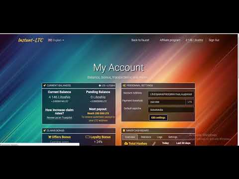 Get FREE Litecoin - Auto Payment Processed To Litecoin Wallet