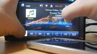 Видео-обзор китайской магнитолы 6220  с DVD,GPS,TV,USB, AUX! 450 Вт