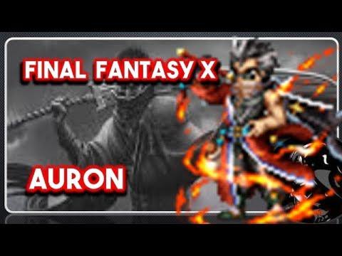 FFBE] Final Fantasy X: Auron! Top Tier Breaker/Buffer! - X