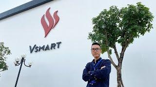 Thăm nhà máy sản xuất điện thoại Vsmart