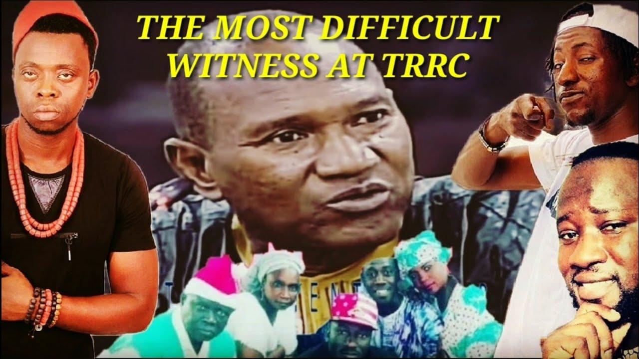 David Colley - The Most Difficult Witness At Trrc Ft ST, Kitabu, Big Faa & Bolongdala