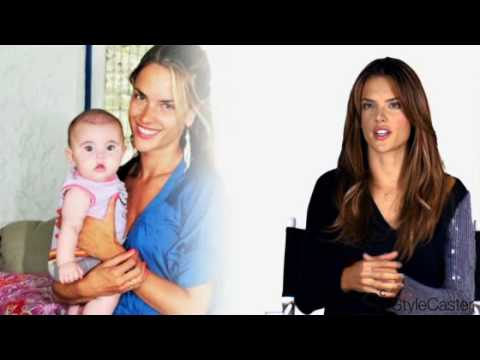 Victoria's Secret Models Alessandra Ambrosio and Rosie Huntington-Whiteley: Up Close and Personal