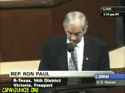 "Ron Paul in Congress: ""What If"" Speech - 2-12-09 - YouTube"