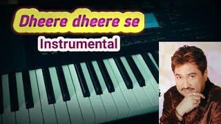 Dheere dheere se meri zindgi me aana old song instrumental with karaoke by Hardik Bhoi
