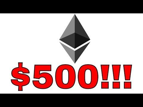 $500 ETHEREUM! Profit Taking From BTC?