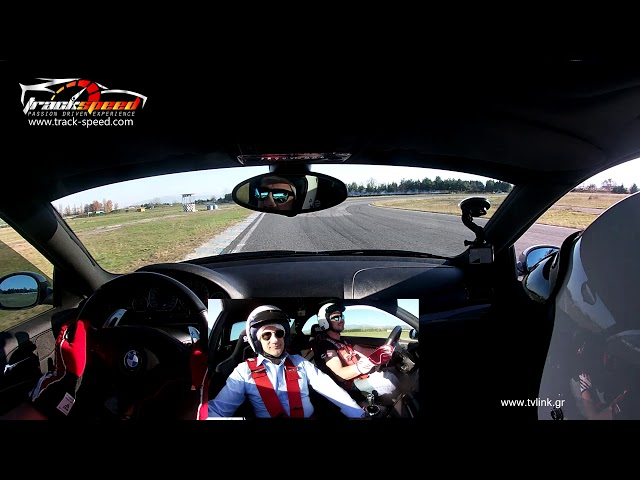 Track-speed.com Taxi Lap Bmw M3 driven on Serres Circuit with the Mayor of Serres City