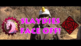 Slaydies: FACE OFF! Unicorn Leah vs. Adella Relentless Gameplay Highlights (Warped Ops Airsoft)