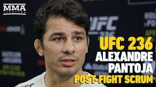 UFC 236: Alexandre Pantoja Says It's Bad For Flyweight Division If Henry Cejudo Beats Marlon Moraes