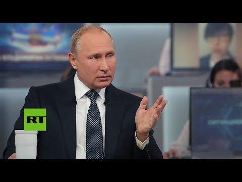 Putin contesta si habrá una tercera guerra mundial [SUB]
