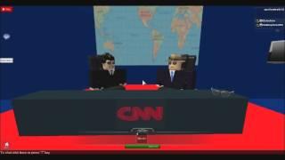 {{USA}} (roblox) CNN News Room Live