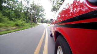1970 plymouth duster 408 4 speed with go pro camera