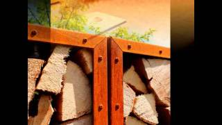 Yagoona Mallee Woodbox Kaminholzregal Sichtschutz System