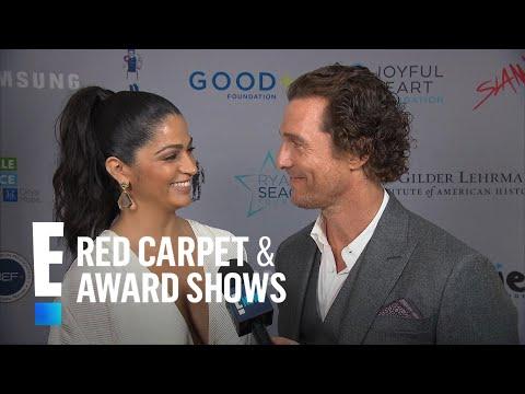 Matthew McConaughey & Camila Alves Enjoy Date Night | E! Red Carpet & Live Events