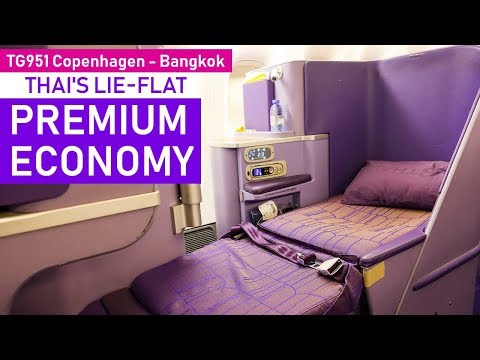 Business Class for Premium Economy?! | Copenhagen - Bangkok