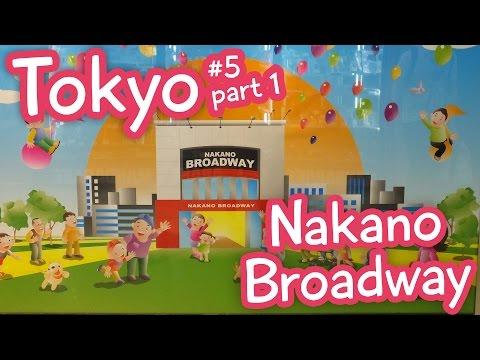 Nakano Broadway: Hunting for Anime Figures! - Tokyo vlog