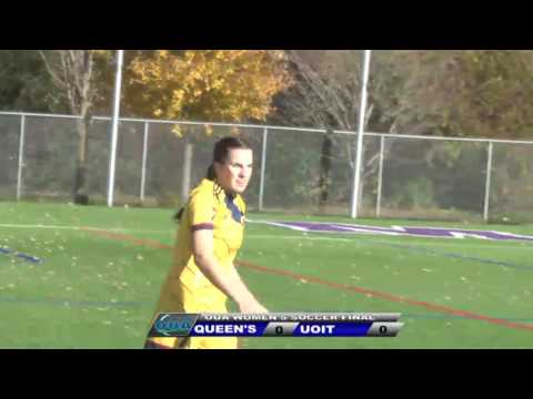 2017 OUA Women's Soccer Gold Medal Game - UOIT Ridgebacks vs