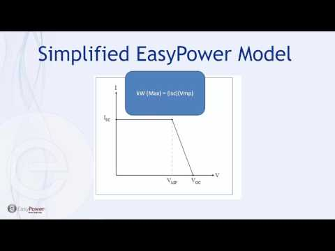 Modeling a Photovoltaic (PV) Electrical System