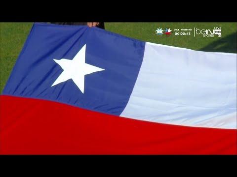 Himno Nacional de Chile en Final Copa America Chile 2015 Full HD 1080p- 04-07-15