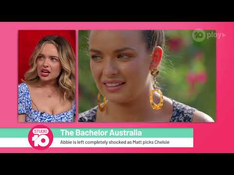 2019 'The Bachelor' Runner-Up Abbie Reflects On Finale   Studio 10