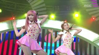Dalshabet - Pink Rocket, 달샤벳 - 핑크 로켓, Music Core 20110514