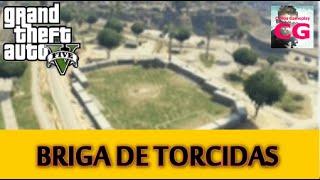 GTA V Online - Briga de Torcidas - Mata Mata no Estádio