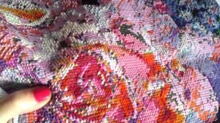 Вышивка розовые розы. Серия 3.