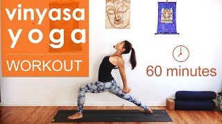 Vinyasa Yoga Workout ~ Mandala Flow (1 hour)