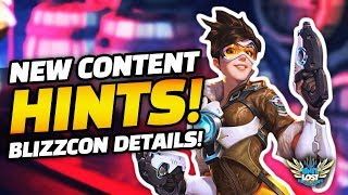 Overwatch Blizzcon Update HINTS?! - Overwatch Floor Map and Schedule REVEALED!!
