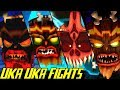 Evolution of Uka Uka Battles in Crash Bandicoot Games (1996-2017)