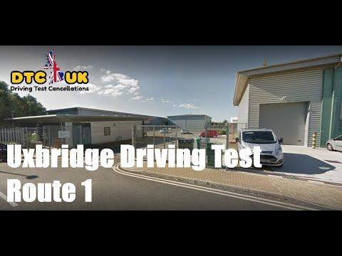 Uxbridge Driving Test Route 1 | DTC-UK | Driving Test UK