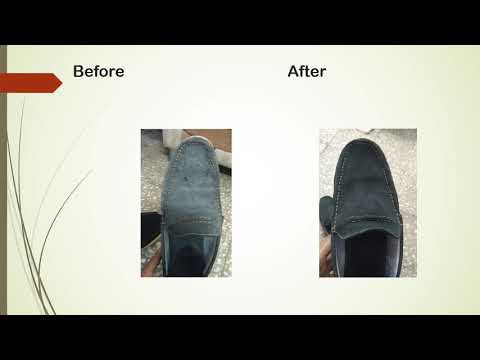 CLEAN SUEDE SHOES AT HOME by vinegar within 5 min hindi india