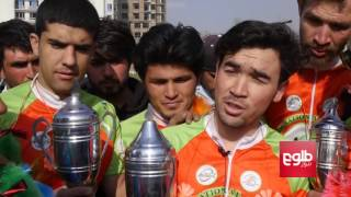 Afghan Cyclists Scoop Top Honors In Pakistan Race/۶ دوچرخه‌سوار کشور ۴ مقام نخست را به دست آوردند