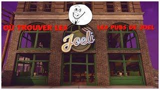 Como e onde encontrar os pubs (bares) de Joel (Fortnite salvar o mundo)