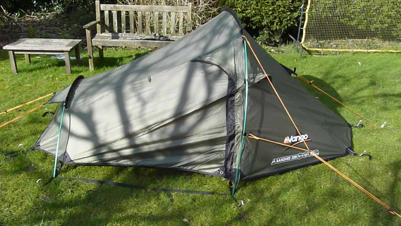 & VANGO Banshee 200 tent - REVIEW - YouTube
