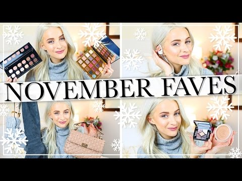 NOVEMBER FAVOURITES AND NEW IN PRODUCTS I LOVE