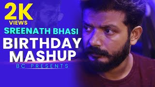SREENATH BHASI BIRTHDAY MASHUP 2020 | B Create #happybirthday #sreenathbhasi #birthday #mashup