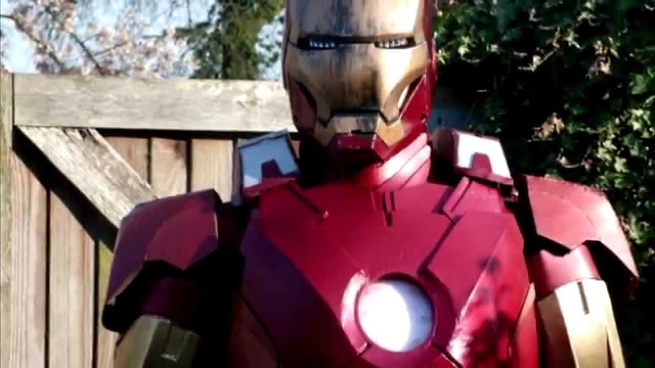 Как сделать костюм из железа фото 668