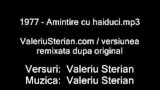 "Valeriu Sterian - 1977 - Amintire cu haiduci (remixata in 1998 pe colectia ""Antologie Folk vol.2"")"