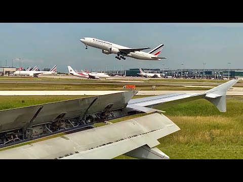 Air France Airbus A320 🇫🇷 Paris CDG ✈️ Marseille MRS 🇫🇷 [FULL FLIGHT REPORT]