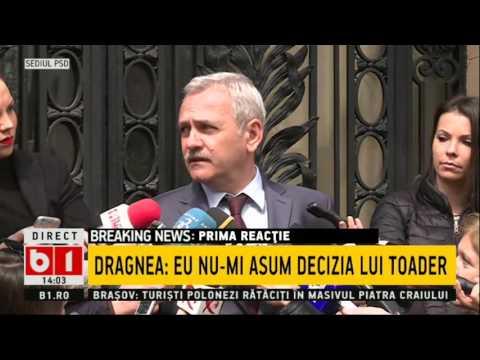 Liviu Dragnea: Am văzut că tremură de frică procurorii șefi că sunt sub monitorizare