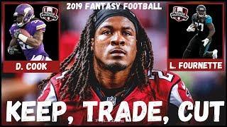 2019 Fantasy Football- Keep/Trade/Cut - Running Backs