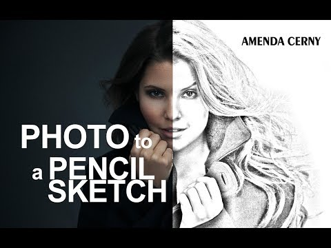 Convert #Photo to a #Pencil Sketch 2019 -  #Photoshop Tuto thumbnail