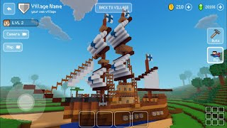 Block Craft 3D : Building Simulator Games For Free Gameplay #470 (iOS & Android) | Ship