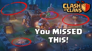 THINGS YOU MISSED In THE SEE YOU LATER, BUILDER BASE Commercial | CoC Update Leak DID NOT SEE! 2019