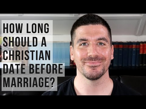 christian dating when to get married